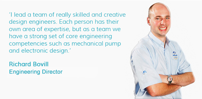Richard Bovill, Design Engineering Manager