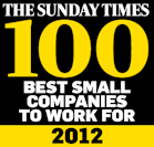 Whale Make It 3 Years Running In Sunday Times Top 100 And Leap 19 Places!